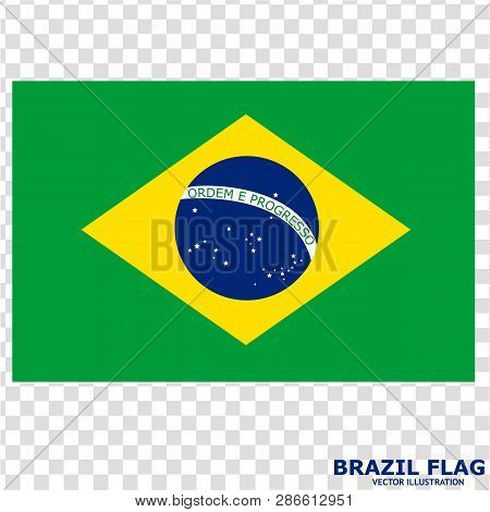 753be6a711f7a Bright Background With Flag Of Brazil . Happy Brazil Day Background. Bright  Button With Flag