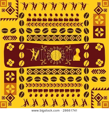 African traditional design pattern