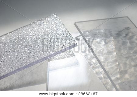 Sparkling Clear Sheets Of Plexiglass