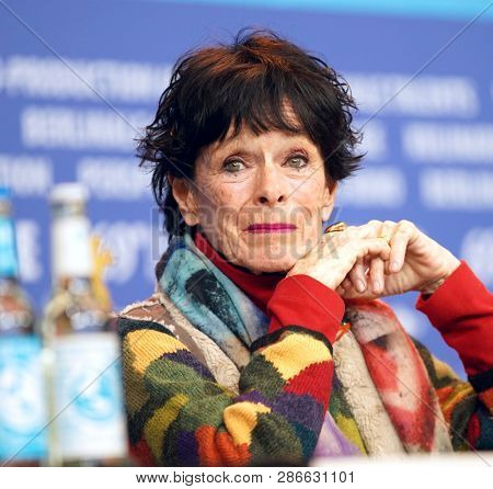 Geraldine Chaplin attends the 'La Fiera Y La Fiesta' Press Conference during the 69th Berlinale Festival  at Grand Hyatt Hotel on February 13,   2019 in Berlin, Germany.