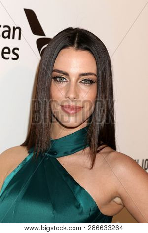 LOS ANGELES - FEB 24:  Jessica Lowndes at the Elton John Oscar Viewing Party on the West Hollywood Park on February 24, 2019 in West Hollywood, CA
