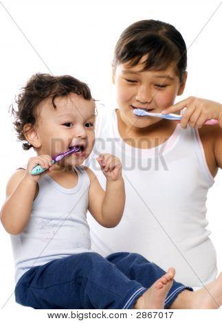 To Clean A Teeth.