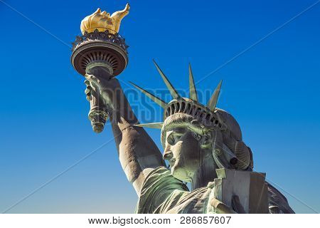 American Symbol - Statue, Liberty,new York, Usa.
