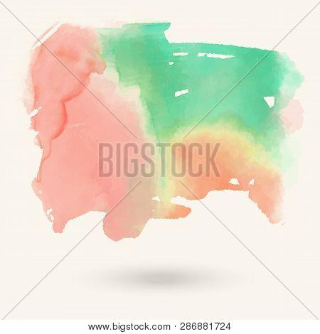 Vector Green Pink Vector & Photo (Free Trial) | Bigstock