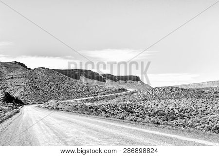 The Landscape On Road R355 On The Bloukrans Pass Between Calvinia And Tankwa Karoo National Park In