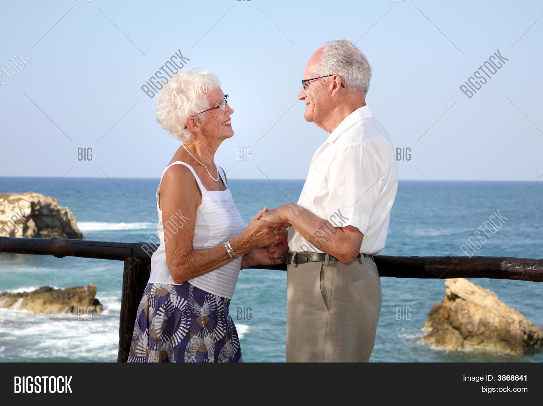 Happy Elderly Couple Image Photo Free Trial Bigstock