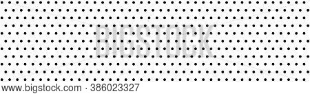 Dots Pattern Vector. Polka Dot Background. Monochrome Polka Dots Abstract Background. Dot Pattern Pr