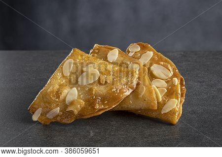 Briouat, Briwat Or Brewat Is A Typical Puff Pastry From The Moroccan Cuisine.
