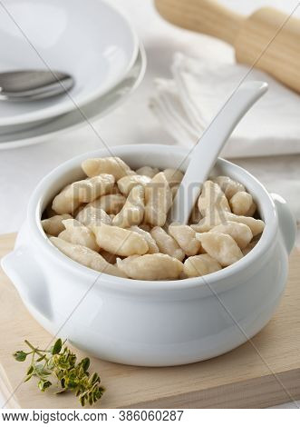 Nokedli Or Galuska, Hungarian Dumplings Or Noodles