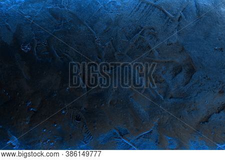 Pretty Blue Design Sparkling Bold Venetian Plaster Texture - Abstract Photo Background