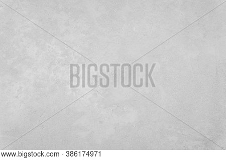 White Concrete Wall For Interiors Or Outdoor Exposed Surface Polished Concrete. Cement Have Sand And