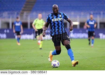 Milano, Italy. 19th September 2020. Friendly Match.  Fc Internazionale Vs Pisa Uc. Romelu Lukaku Of