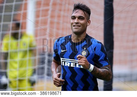 Milano, Italy. 19th September 2020. Friendly Match.  Fc Internazionale Vs Pisa Uc. Lautaro Martinez