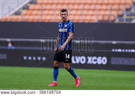 Milano, Italy. 19th September 2020. Friendly Match.  Fc Internazionale Vs Pisa Uc. Ivan Perisic Of F