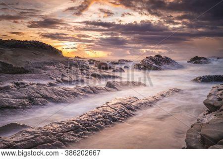 Xiaoyeliu Scenic Area At Eastern Coast In Taitung, Taiwan