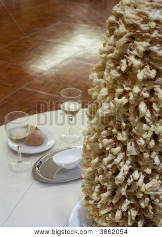 Lithuanian Raguolis Wedding Cake