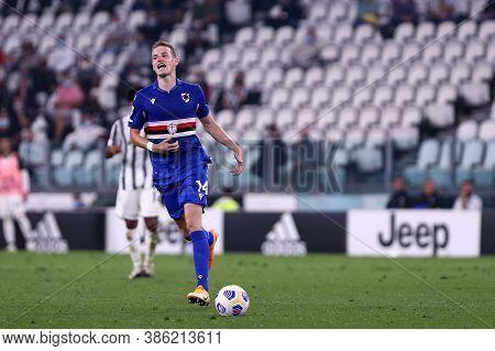 Torino, Italy. 20th September 2020. Italian Serie A. Jakub Jankto Of Uc Sampdoria   During The Serie