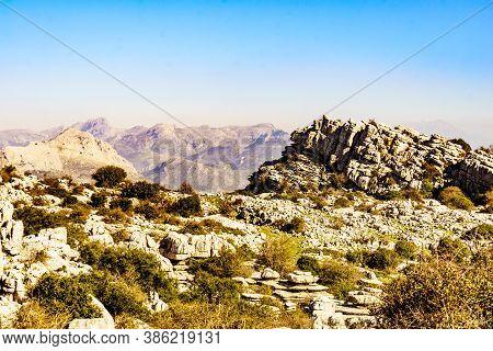 Rock Formations, Torcal De Antequera, Spain