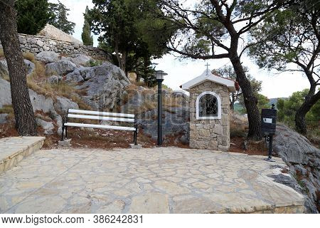Church, Tribunj Is A Village And A Municipality In Sibenik-knin County, Croatia.