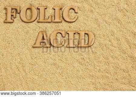 Organic Amaranth Seeds - Amaranthus. Folic Acid