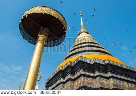 Wat Phra That Lampang Luang An Iconic Buddhist Temple Was Founded In The 13th Century, One Of The Be