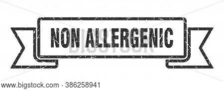 Non Allergenic Grunge Vintage Retro Band. Non Allergenic Ribbon