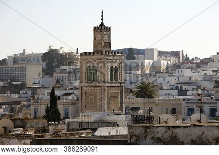 Tunisia Tunis City Medina Mosque
