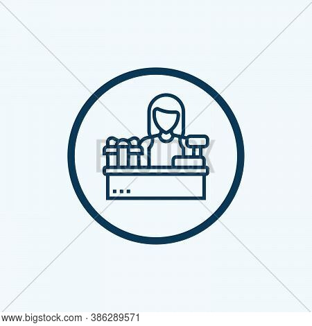 Customer Service Icon Isolated On White Background From Branding Collection. Customer Service Icon T