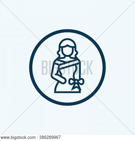 Dress Icon Isolated On White Background From Party And Celebration Collection. Dress Icon Trendy And