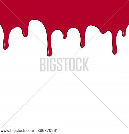 Dripping Red Paint. Dripping Liquid. Fluid Fluid. Spilling Paint. Falling Paint. Fluid Oil Stain. Ab