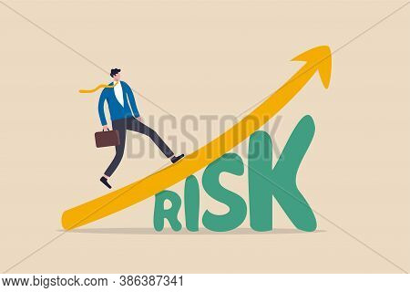 High Risk High Return Stock Market Investment, Trade Off Of Risky Investment Asset Rewarding Growth