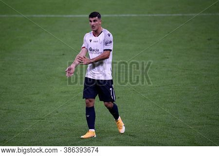 Milano, Italy. 21th September 2020. Italian Serie A. Riccardo Orsolini Of Bologna Fc In Action Durin