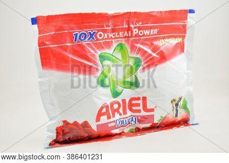Manila, Ph - Sept 10 - Ariel With Downy Laundry Soap Powder On September 10, 2020 In Manila, Philipp