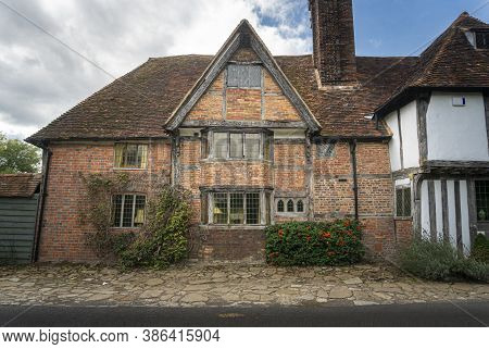 An Ancient Cottage In The Village Of Smarden, Kent, Uk