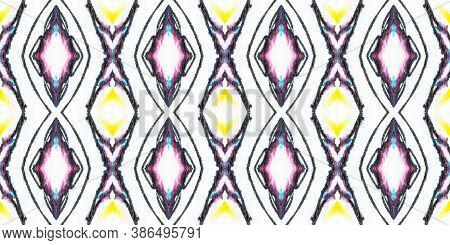 Crumpled Paper Texture. Watercolour Tie Dye Ornament. Artistic Grunge Illustration. Handmade Paint I
