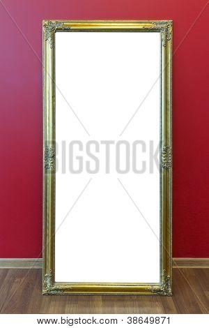 Mirror Golden Frame