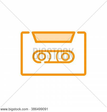Illustration Vector Graphic Of Cassette Icon Template