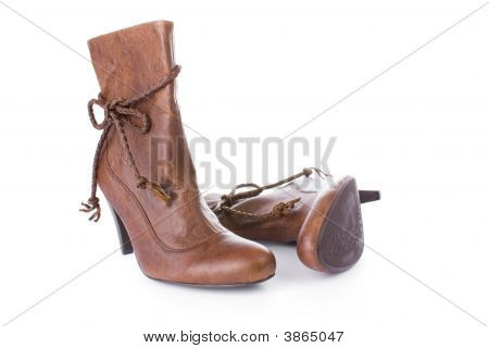 Hig Heels Half Boot