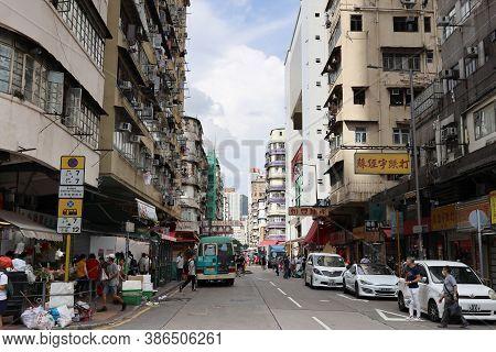 26 Aug 2020 Lifestyle At Apliu Market Street, Sham Shui Po, H.k.