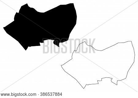 Tripoli City (state Of Libya, Greater Tripoli Region) Map Vector Illustration, Scribble Sketch City