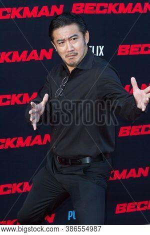 Nobuaki attends the premiere of