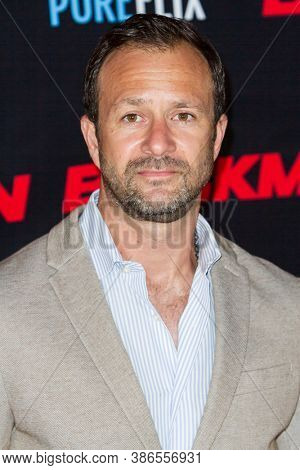 Matt Shapira attends the premiere of