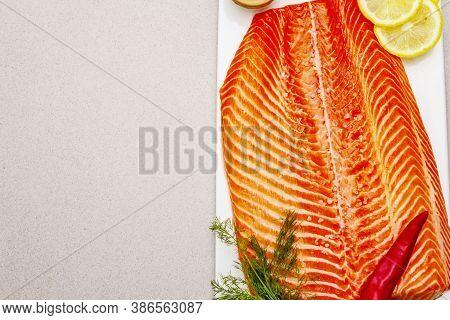 Raw Norwegian Trout Fillet