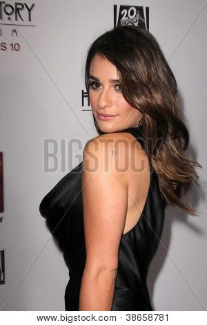 LOS ANGELES - OCT 13:  Lea Mkichele arrives at the