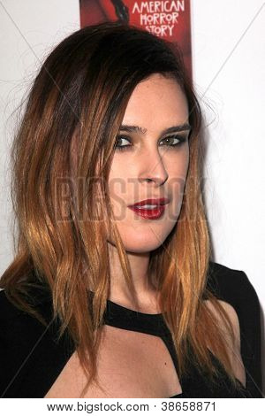 LOS ANGELES - OCT 13:  Rumer Willis arrives at the