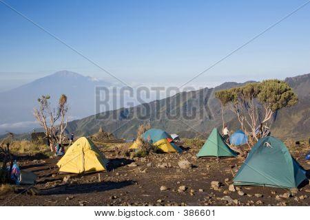 Kilimanjaro Shira Hut Camp