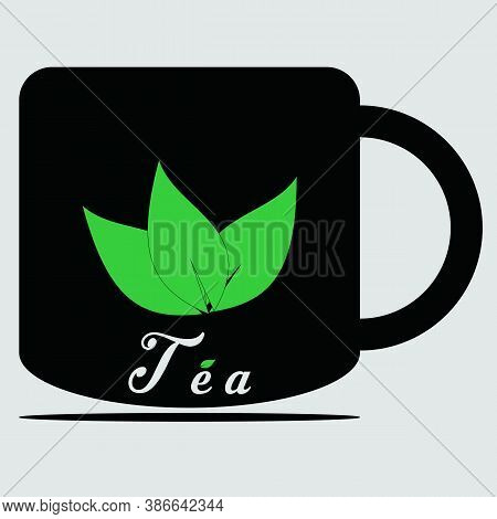 Tea Cup Icon Isolated On White Background From Office Collection. Tea Cup Icon Trendy And Modern Tea