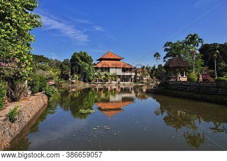 Taman Ayun Temple On Bali, Indonesia