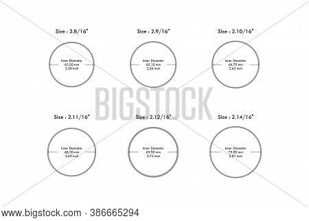 Round Bangle Size Guide From 2.80 Aani To 2.14 Aani