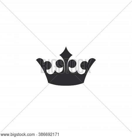 Crown Logo - King Queen Royal Royalty Vector Princess Prince Kingdom Jewelry Classic Monarch Gold Im